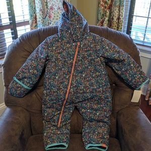NWOT ROXY Baby Rose Snow Suit